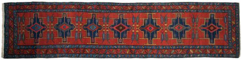 3×14 Persian Atraf Red Oriental Rug Runner 035055