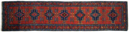 3×14 Persian Atraf Red Oriental Rug Runner 035055