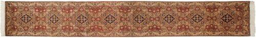 3×14 Persian Beige Oriental Rug Runner 021648