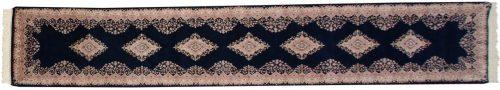 3×15 Kerman Blue Oriental Rug Runner 015673
