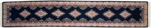3×15 Kerman Blue Oriental Rug Runner 015674