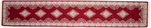 3×15 Kerman Red Oriental Rug Runner 015721