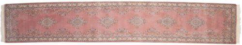 3×15 Kerman Rose Oriental Rug Runner 015726