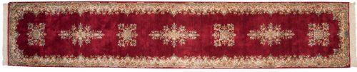 3×15 Persian Kerman Red Oriental Rug Runner 012190
