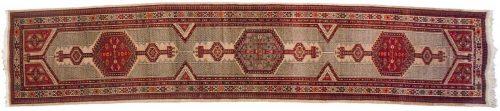 3×15 Persian Serab Beige Oriental Rug Runner 035229