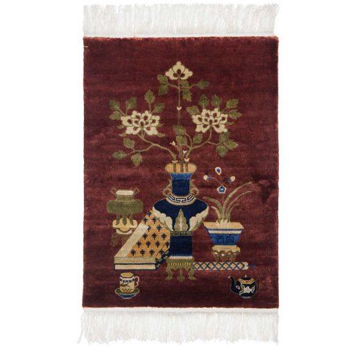 3×4 Peking Rust Oriental Rug 018048