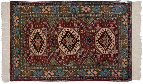 3×4 Caesaria Rust Oriental Rug 030016