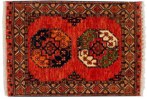 3×4 Ersari Rust Oriental Rug 048869