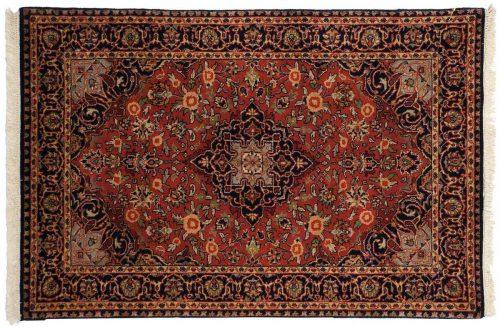3×4 Kashan Red Oriental Rug 042627