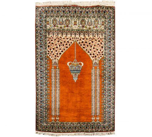 3×4 Kashmir Rust Oriental Rug 013207