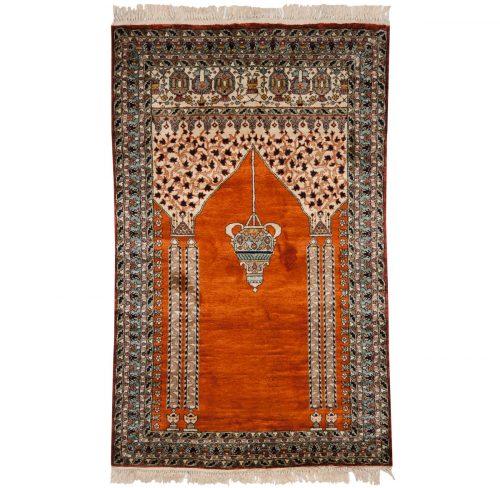 3×4 Kashmir Rust Oriental Rug 013208