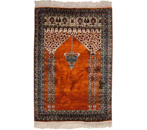 3×4 Kashmir Rust Oriental Rug 013217