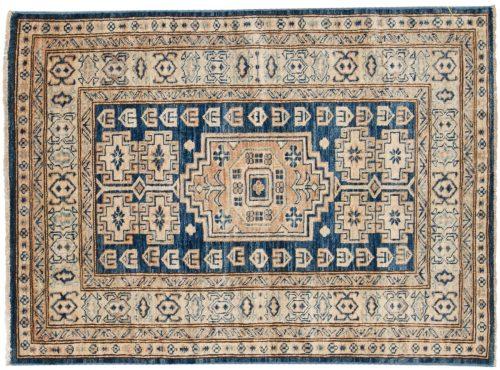 3×4 Kazak Blue Oriental Rug 048807
