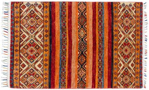 3×4 Kazak Multi Color Oriental Rug 048452