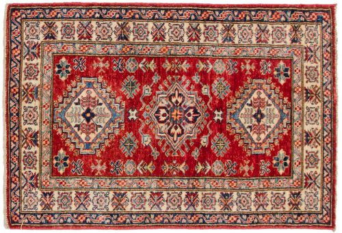 3×4 Kazak Red Oriental Rug 048434
