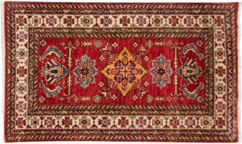 3×4 Kazak Red Oriental Rug 048846