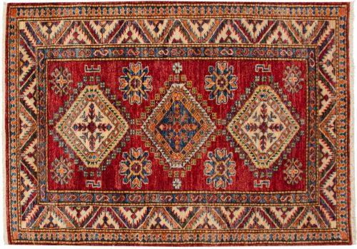 3×4 Kazak Red Oriental Rug 048848