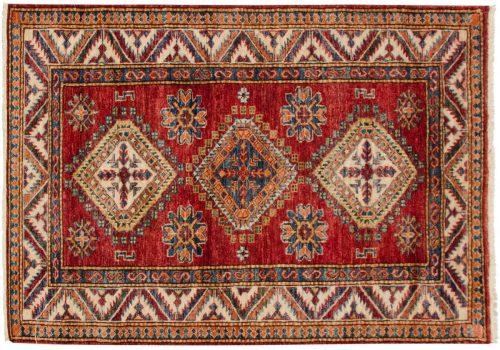 3×4 Kazak Red Oriental Rug 048849