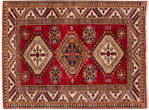 3×4 Kazak Red Oriental Rug 048850