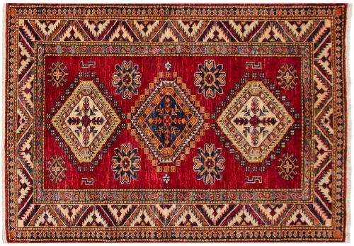 3×4 Kazak Red Oriental Rug 048851