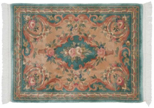 3×4 Peking Green Oriental Rug 029642