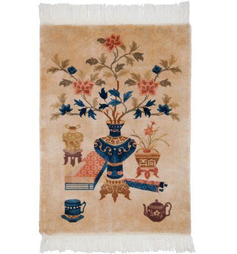 3×4 Peking Ivory Oriental Rug 018043