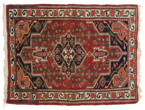3×4 Persian Bijar Red Oriental Rug 034688
