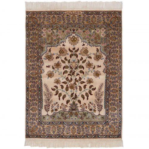 3×4 Persian Ivory Oriental Rug 022055