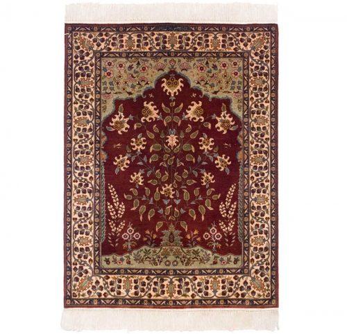 3×4 Persian Red Oriental Rug 022053