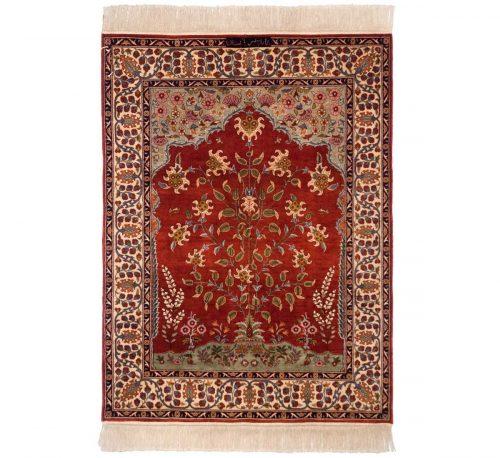 3×4 Persian Red Oriental Rug 022054