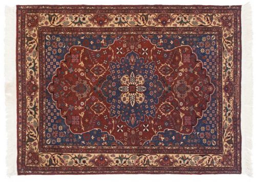 3×4 Persian Rust Oriental Rug 021492