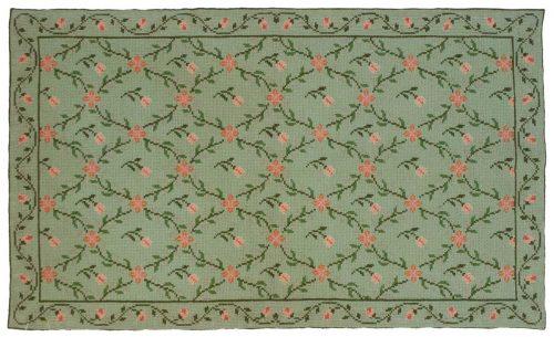 3×5 Afurada Green Oriental Rug 028353