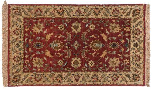 3×5 Floral Burgundy Oriental Rug 038211