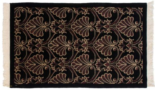 3×5 Arts & Crafts Black Oriental Rug 038437