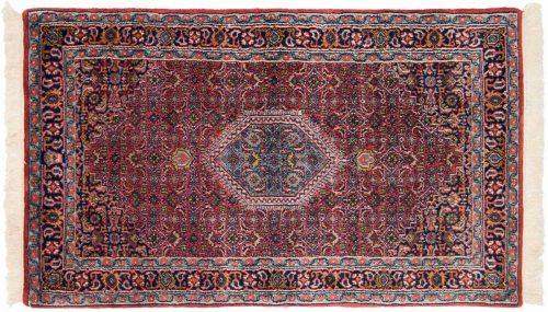 3×5 Bijar Red Oriental Rug 036245