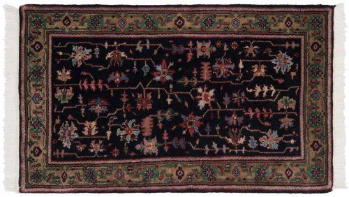 3×5 Heriz Black Oriental Rug 036177