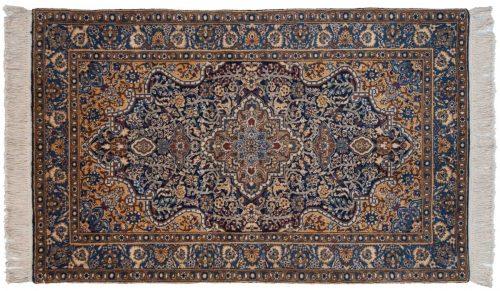 3×5 Kerman Blue Oriental Rug 019611