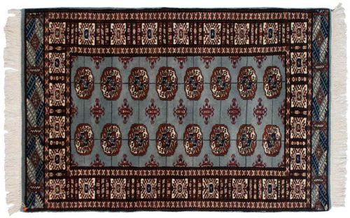 3×5 Bokhara Blue Oriental Rug 023264