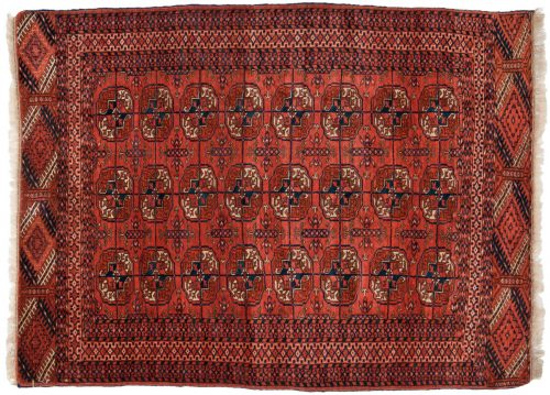 3×5 Bokhara Brown Oriental Rug 013605