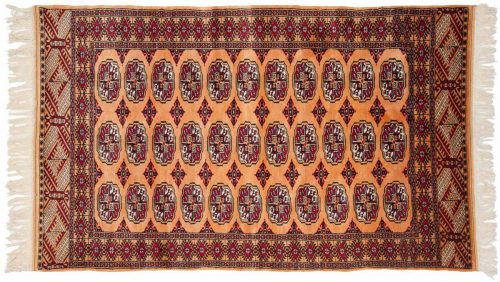 3×5 Bokhara Gold Oriental Rug 027648