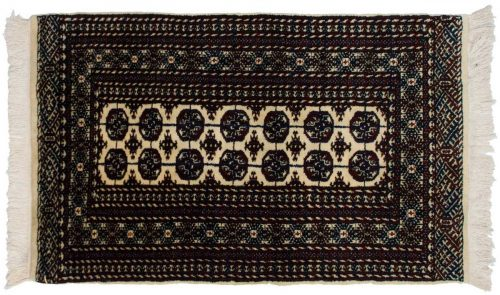 3×5 Bokhara Ivory Oriental Rug 023199