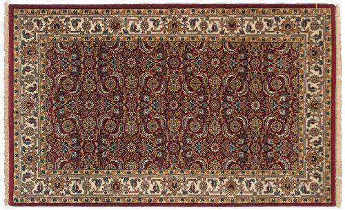 3×5 Tabriz Burgundy Oriental Rug 042536