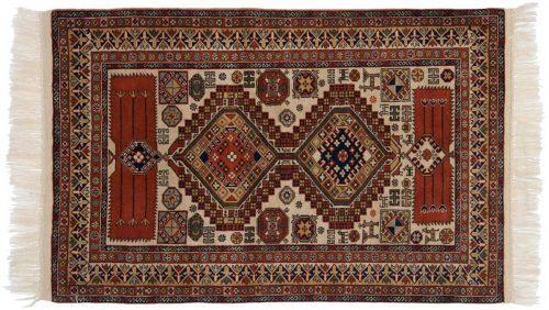 3×5 Caucasian Beige Oriental Rug 027555