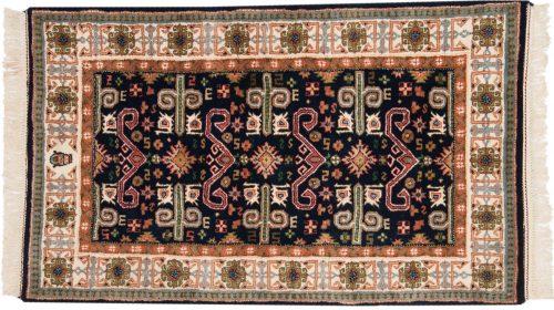 3×5 Caucasian Blue Oriental Rug 015152