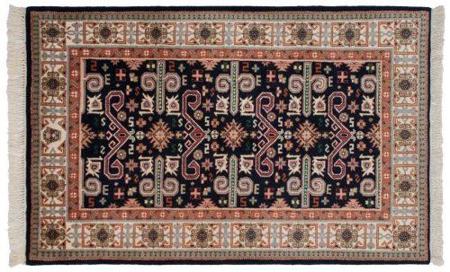 3×5 Caucasian Blue Oriental Rug 015192