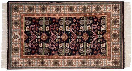 3×5 Caucasian Blue Oriental Rug 015195