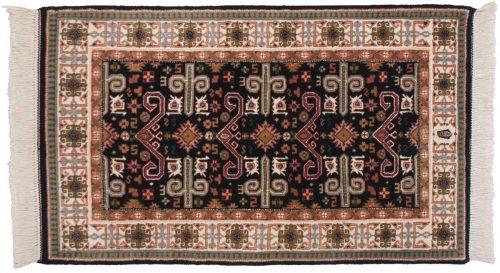 3×5 Caucasian Blue Oriental Rug 048204