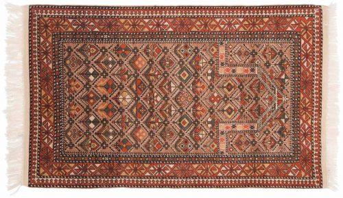 3×5 Caucasian Mauve Oriental Rug 027578