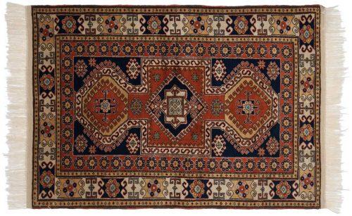 3×5 Caucasian Rust Oriental Rug 027550