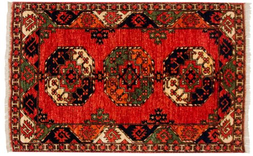 3×5 Ersari Rust Oriental Rug 048867